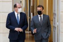 Jean Castex et Emmanuel Macron le 9 juin 2021.