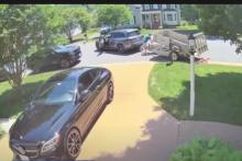 Un Américain a versé 800 dollars de pension alimentaire en pièces de 1 centime devant le domicile de son ex-conjointe.
