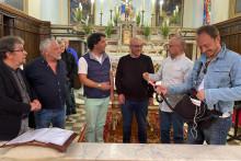 Le chœur de Sartène en pleines répétitions.