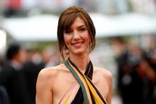 Doria Tillier le 24 mai 2019 sur le tapis rouge du Festival de Cannes.
