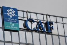 Caisse d'allocations familiales (CAF) à Bordeaux. (Illustration)