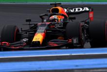 Max Verstappen sur le circuit du Castellet