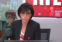 Rachida Dati au micro de RTL, le 20 juin 2021