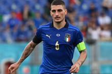 Marco Verratti avec l'Italie à Rome le 20 juin 2021