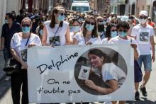Marche blanche pour Delphine Jubillar le 12 juin 2021.