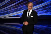 Le réalisateur américain Steven Spielberg, pendant la 92e cérémonie des Oscars, à Hollywood