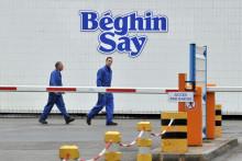 La raffinerie Béghin-Say de Nantes