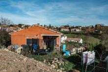 La maison du couple Jubillar à Cagnac-les-Mines (Tarn), le 22 décembre 2020, peu après la disparition de Delphine Jubillar.