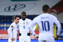 Mbappé, Griezmann et Pogba, trois tauliers des Bleus lors de l'Euro 2021