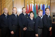 Les astronautes retenus lors de la dernière campagne de recrutement de l'ESA en 2008, dont faisait partie Thomas Pesquet