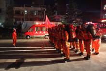 Des pompiers chinois (illustration)