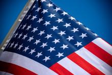 Le drapeau américain. (Illustration)