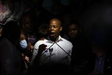 Eric Adams et le favori pour remporter la primaire démocrate à la mairie de New York.