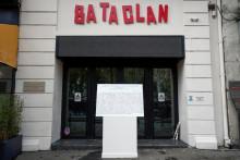 L'entrée du Bataclan prise en photo le 13 novembre 2018. (Illustration).