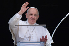 Le pape François le 1er juillet 2021 à Rome