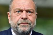 Le ministre de la Justice Éric Dupond-Moretti le 24 septembre 2020 à Pontoise (Île-de-France)