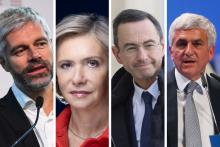 Laurent Wauquiez, Valérie Pécresse, Bruno Retailleau et Hervé Morin