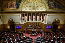 Une photo du Sénat prise à Paris, le 17 décembre 2020. (Illustration)