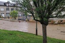 Les inondations à Thieux ont surpris les habitants (illustration)