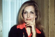 La chanteuse Dalida en 1975