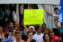 Manifestations historiques à Cuba le 11 juillet
