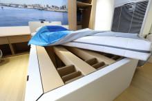 Les sommiers des lits sont en carton au Village Olympique