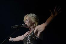 Dolores O'Riordan, la chanteuse du groupe irlandais The Cranberries