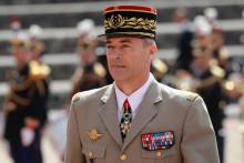 Le général Thierry Burkhard, nouveau chef d'état-major des armées françaises, ici le 18 juin 2020