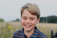 Le prince George photographié par sa mère à l'occasion de ses 8 ans
