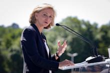 La présidente de la région Ile-de-France, Valérie Pécresse