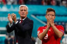 Vladimir Petkovic après l'élimination de la Suisse le 2 juillet 2021 à Saint-Petersbourg.