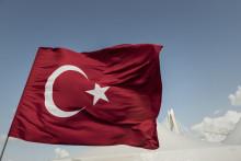 Le drapeau turc (illustration).