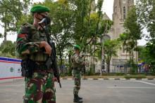 Des militaires indonésiens à Jakarta (illustration)