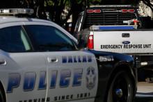 Une voiture de police américaine (illustration).