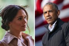 Meghan Markle et Barack Obama