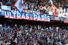 Les supporters parisiens au Parc des Princes, le 14 août 2021