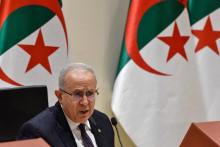Le ministre algérien des Affaires étrangères, Ramtane Lamamra, à Alger, le 24 août 2021