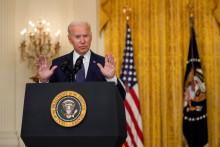 Joe Biden à la Maison Blanche, le 26 août 2021