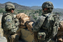 Des soldats américains en Afghanistan (illustration)