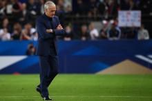 Didier Deschamps après le match nul face à la Bosnie, le 1er septembre