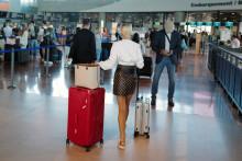 Des passagers à l'aéroport de Nice (illustration)