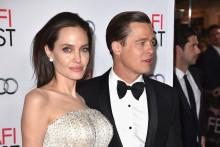 Angelina Jolie et Brad Pitt en 2015