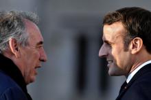 François Bayrou et Emmanuel Macron, le 13 janvier 2020