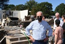 Joe Biden a appelé a agir sans tarder contre les ravages du changement climatique