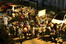 Des patients sortis d'urgence d'un hôpital après un séisme au Mexique