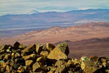 """Le désert d'Atacama où une équipe de scientifiques chiliens a identifié les restes fossiles d'un """"dragon volant"""""""