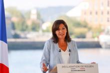 Anne Hidalgo a annoncé sa candidature à la présidentielle le dimanche 12 septembre à Rouen