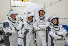 L'équipage de la mission Inspiration4 de SpaceX