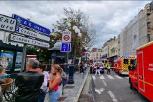 Une femme a foncé sur la terrasse d'un restaurant, faisant 6 blessés légers
