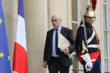 Philippe Étienne, devenu ambassadeur français aux États-Unis, devant l'Élysée en 2018.